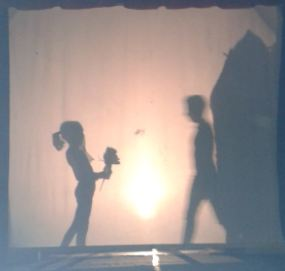 Teatro de sombras no Altamira