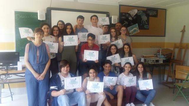 Entrega de diplomas do Programa TEI (Titoría entre iguais)