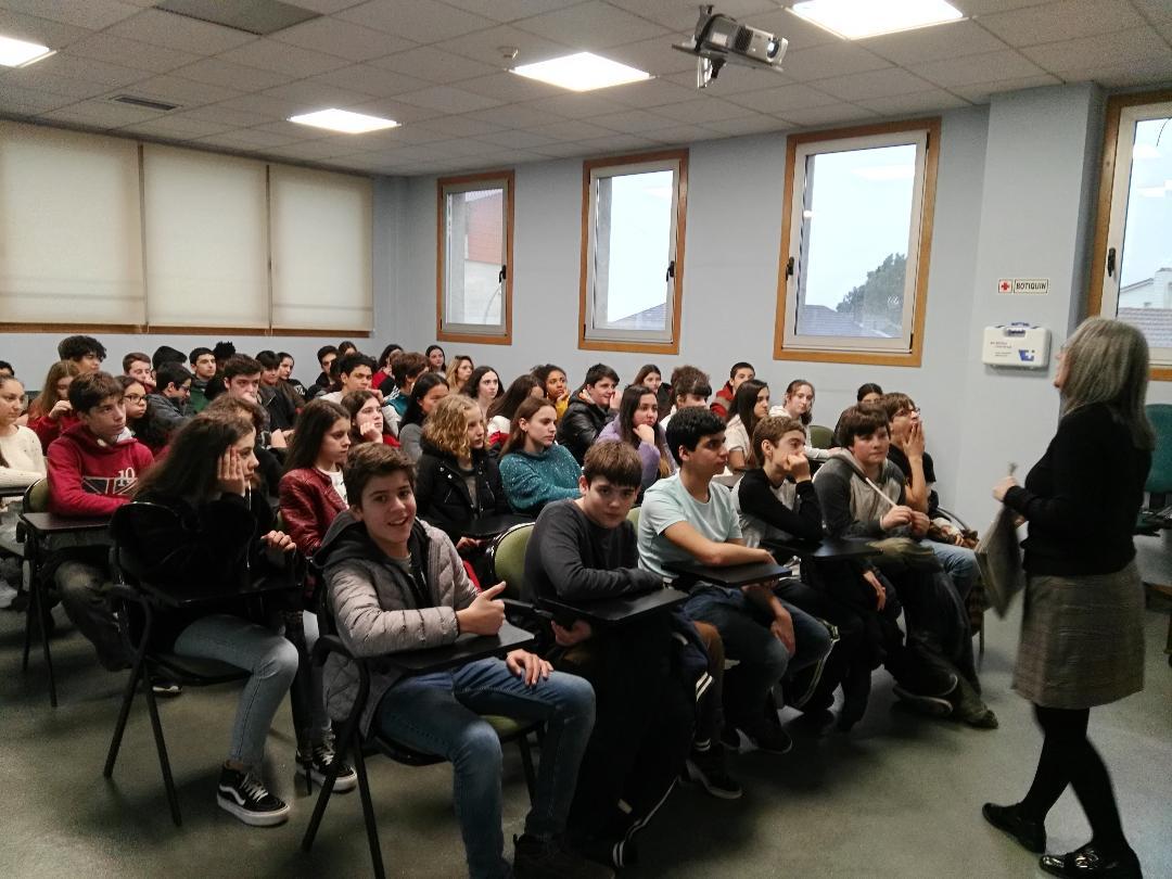 Visita A Las Instalaciones De Faro De Vigo En Chapela Ies Politécnico De Vigo