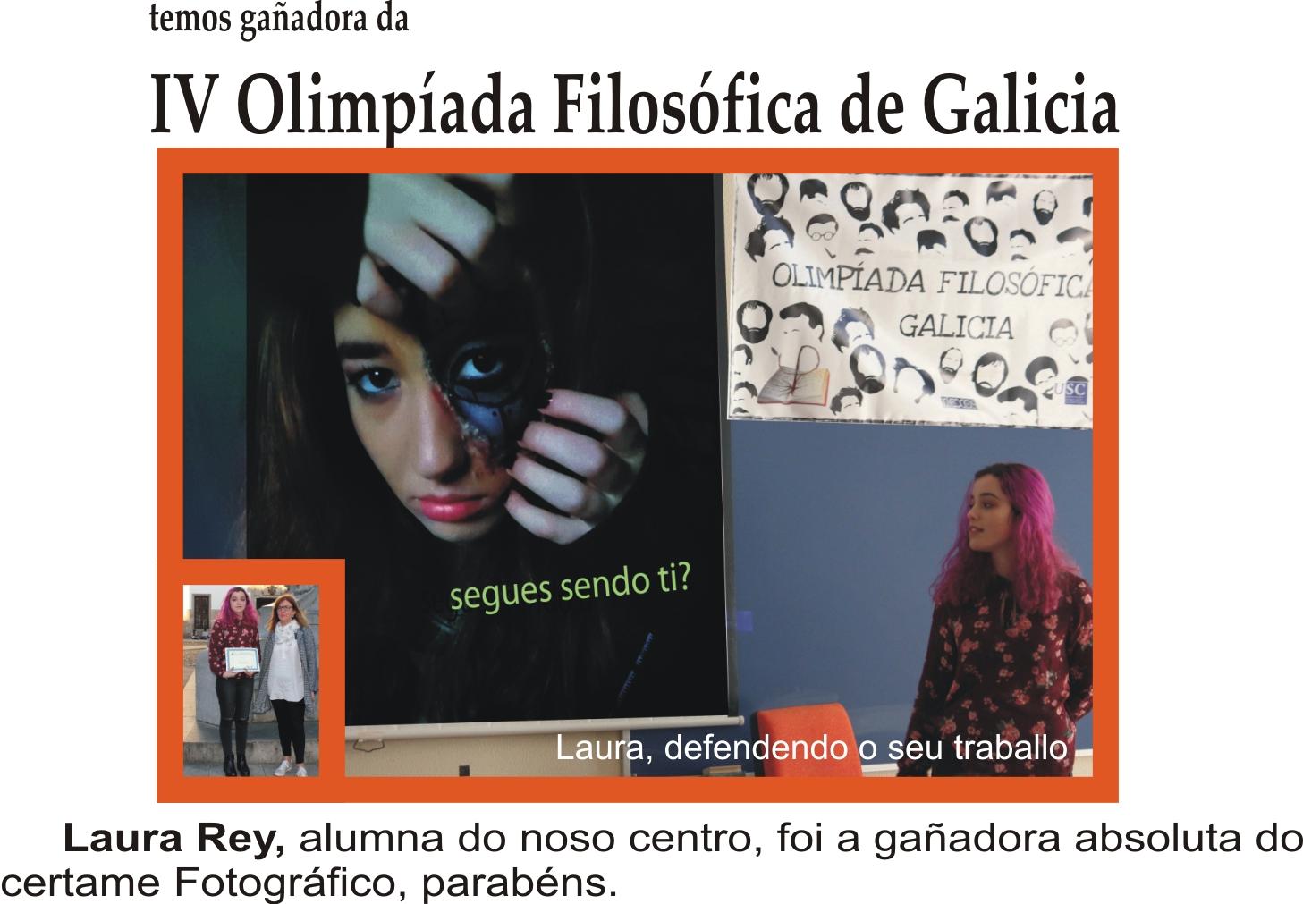 Laura Rey gañadora certamen fotográfico