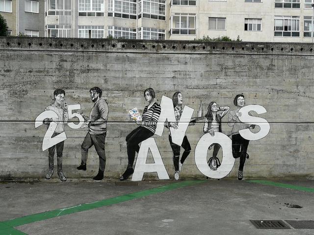 grafiti entrada