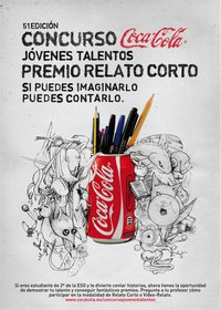 Resultado de imaxes para concurso novos talentos coca cola