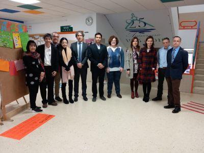Visita dos representantes da Universidade de Payap en Chiang Mai, Tailandia, ao noso centro