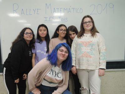 Finalistas do Rally Matemático