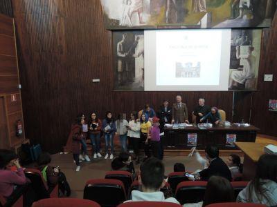 Alumnas do IES de Teis conseguiron o segundo posto no Rally matemático 2019