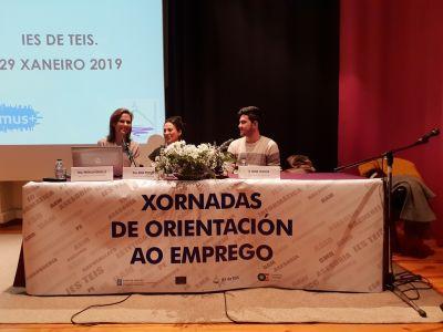 IANIRE ESTEBANEZ CASTAÑO impartindo a charla