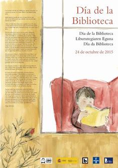Cartaz dia da biblioteca