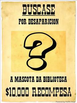 Cartaz Buscase mascota