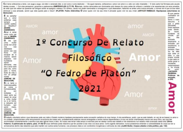 I CONCURSO RELATO FILOSÓFICO