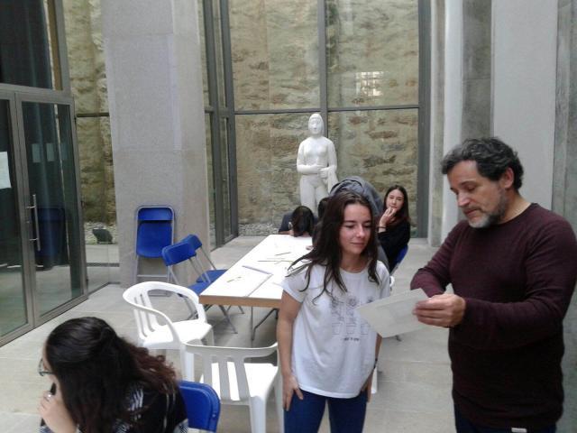 Alumnos de 4º ESO visitaron o Museo de Belas Artes