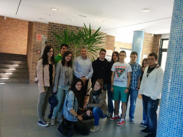 Visita Instituto de Cerámica de Galicia