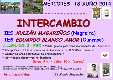 Intercambio IES Blanco Amor