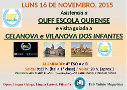 Asistencia a OUFF Esola de Ourense