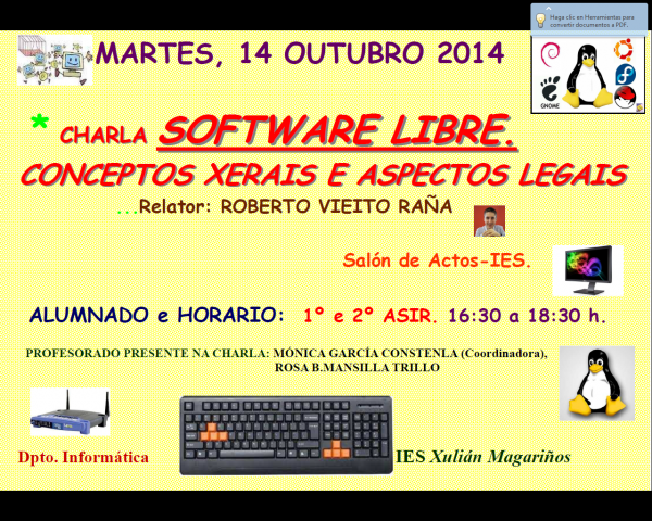 Charla sobre software libre 2