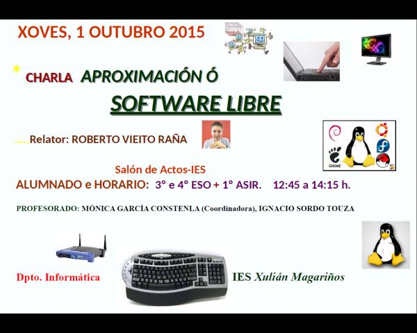 Charla software libre