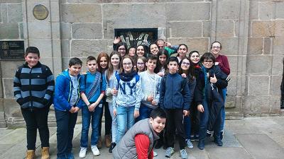 Visita a Santiago