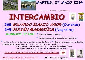 Intercambio Ies Blanco Amor Ourense