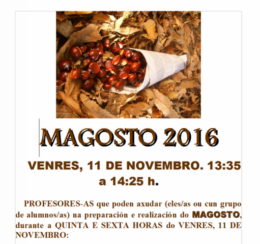 magosto 2016