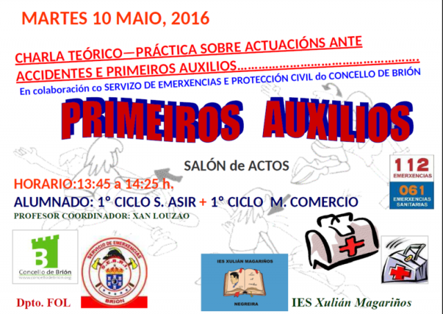 PRIMEIROS AUXILIOS