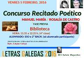 Recital Manoel María