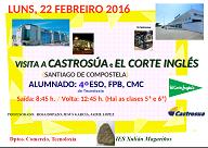 Visita a Castrosua e El Corte Inglés