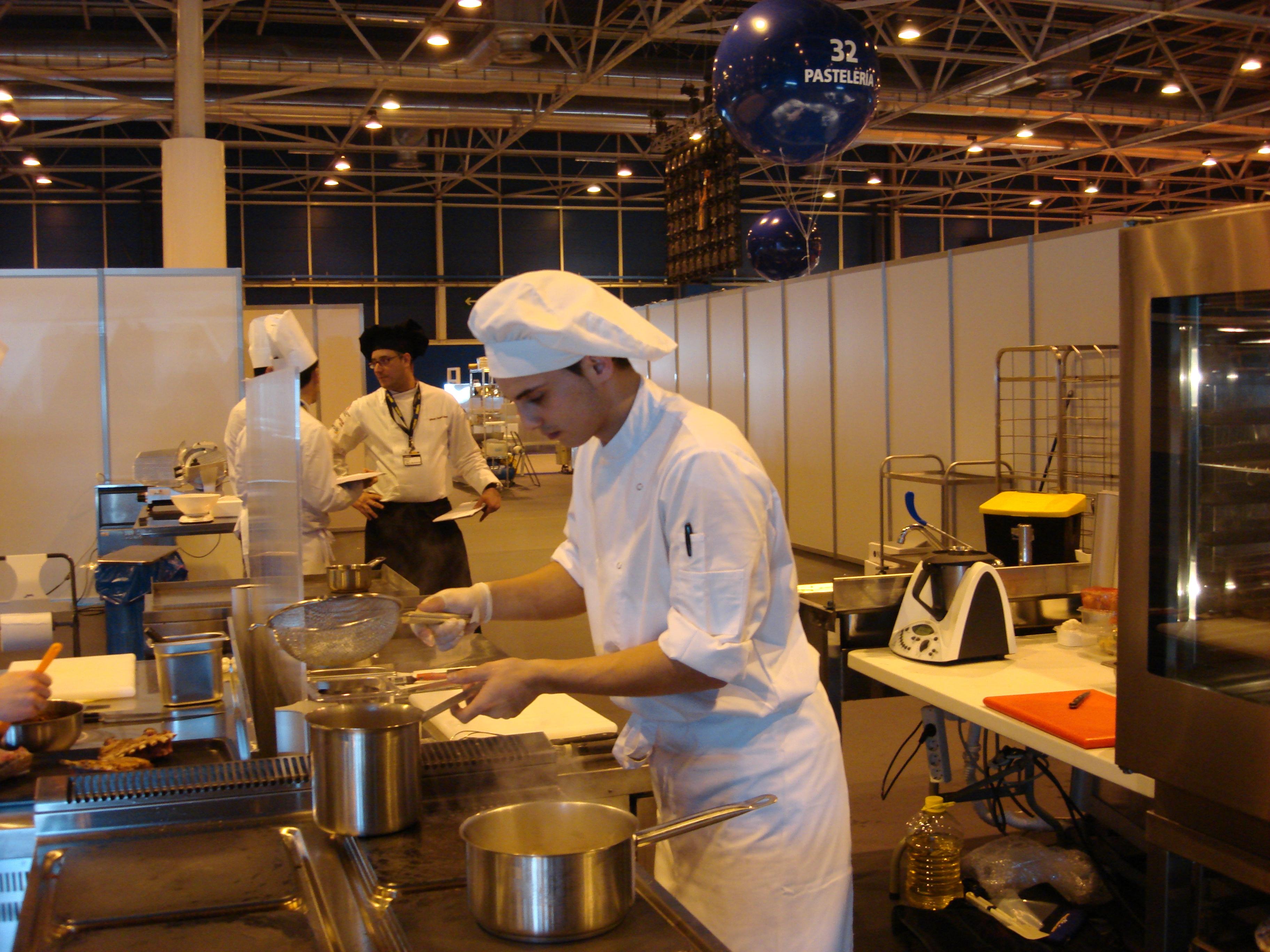 Olimp adas 2013 da formaci n profesional coci a xunta - Fp de cocina ...