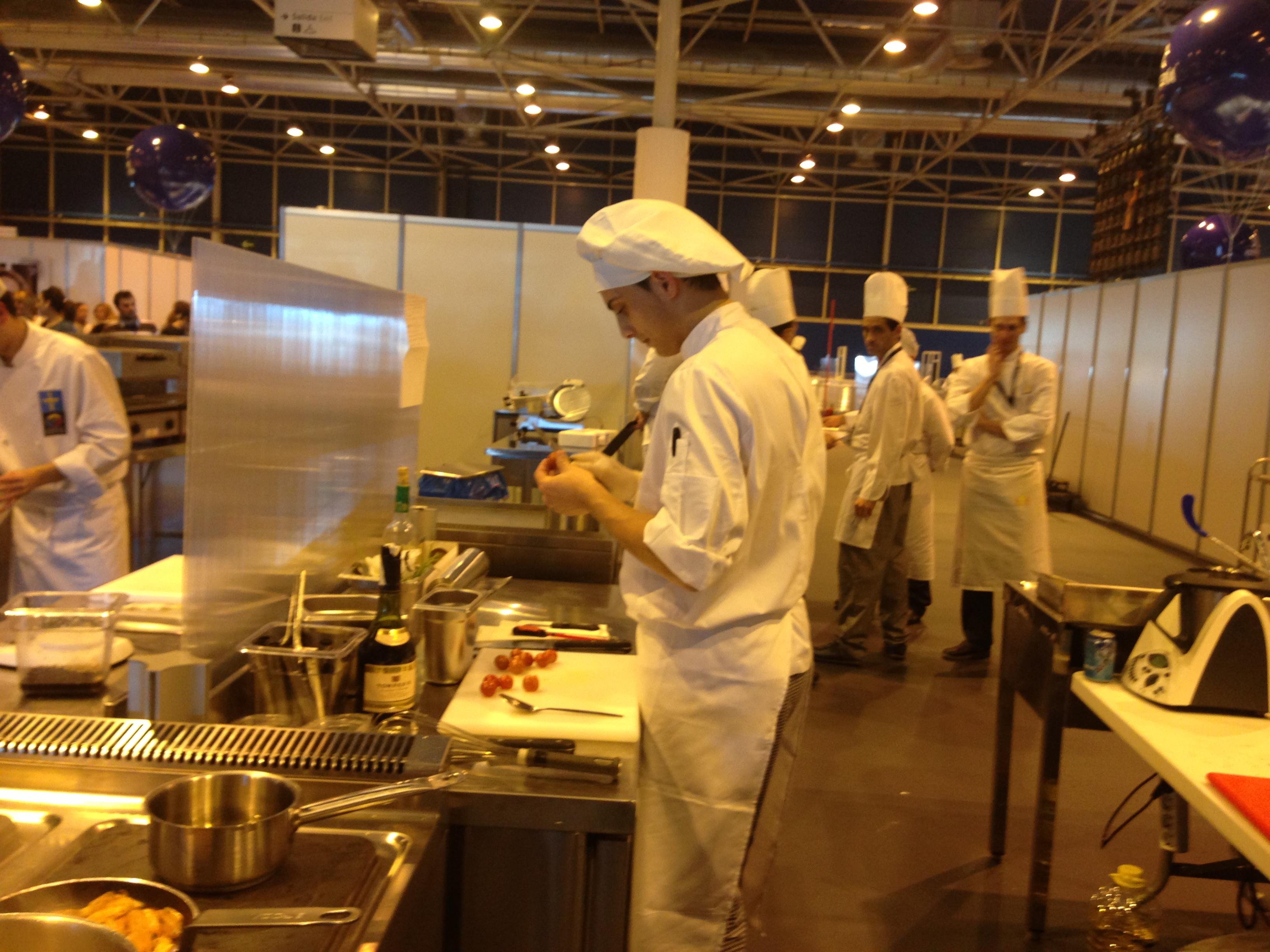 Olimp adas 2013 da formaci n profesional coci a xunta for Formacion profesional cocina