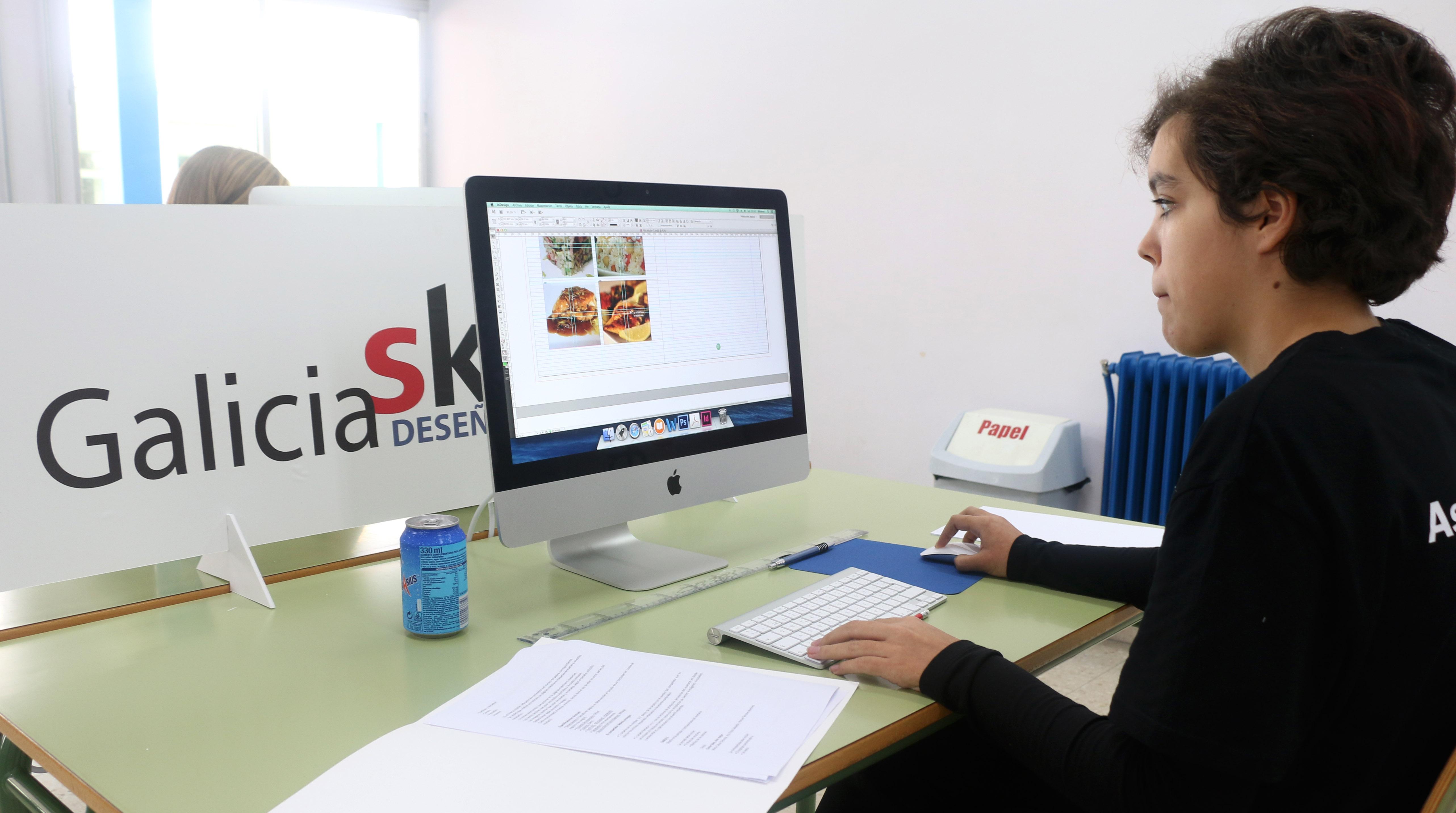 Skill dese o gr fico galiciaskills 2014 xunta de galicia for Oficina xunta de galicia