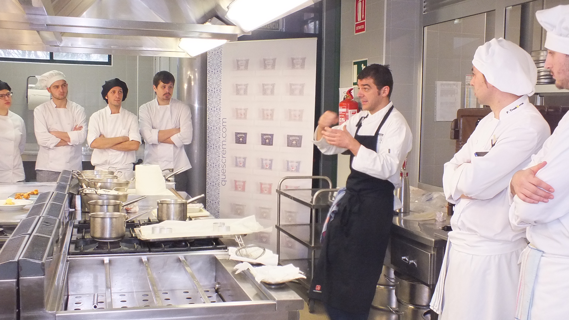 showcooking Hector López