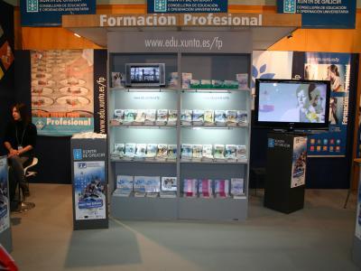 Pavillón da formación profesional en Xantar 2012