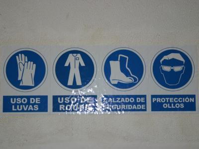 Prevención de riscos laborais en centros de FP de A Coruña