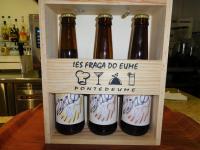 """Elaboración de cervexa artesá baixo a marca """"Quilómetro cero"""""""