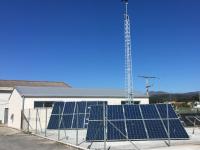 Punto de recarga de vehículos eléctricos sustentable con enerxías renovables
