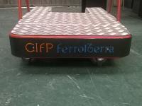 Sistema de desprazamento autónomo para persoas con mobilidade reducida en centros comerciais
