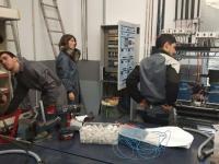 Montaxe e instalación de central frigorífica didáctica, para estudo de avaliación do funcionamento de equipos frigoríficos industriais de supermercados