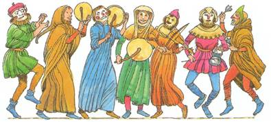 the history of minstrels the beatniks of medieval europe Illustration by arthur rackham of the ballad  the twa corbies  a ballad is  ballads derive from the medieval french  they were widely used across europe ,.