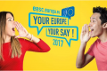 Cartel Your Europe Your Say 2017