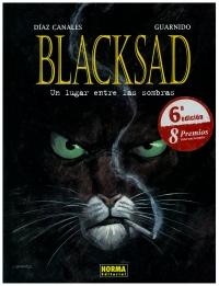 Portada de Blacksad. Un lugar entre las sombras