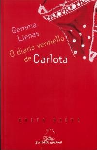 Portada de O diario vermello de Carlota