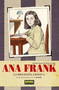 Portada de Ana Frank. La biografía gráfica