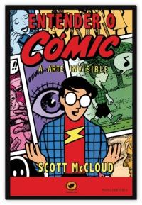 Portada de Entender o cómic. A arte invisible