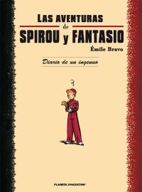 Portada de Las aventuras de Spirou y Fantasio. Diario de un ingenuo
