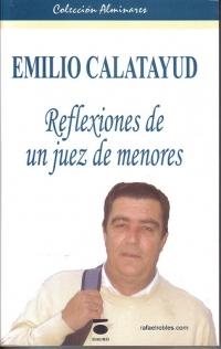 Portada de Emilio Calatayud. Reflexiones de un juez de menores