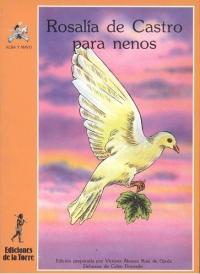 Portada de Rosalía de Castro para nenos