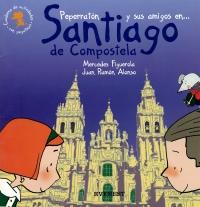 Portada de Peperratón y sus amigos en Santiago de Compostela