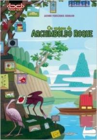 Portada de Os amigos de Archimboldo Roque