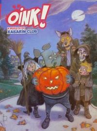 Portada de Oink! A revista do Xabarín Club. Número 2