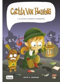 Portada de Cecilia Van Helsing. 1. El caso del ladrón de meriendas