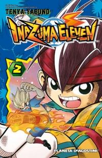 Portada de Inazuma eleven 2