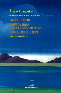 Portada de Poesía 1932-1933. Mar no norde, cantiga nova que se chama